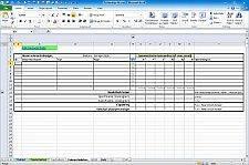Screenshot TolStackUp tolerantietabel voor tolerantieanalyse